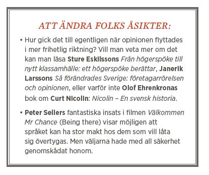 Fredrik Johansson tankesmedjor Daniel Suhonen public service Neo nr 3 2014
