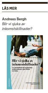 Andreas Bergh Blir vi sjuka av inkomstskillnader? Neo nr 3 2014