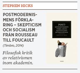 Ivar Arpi Stephen Hicks Postmodernismens förklaring Neo nr 3 2014