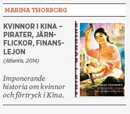 Hanna Lager recension Marina Thorborg Kvinnor i Kina Neo nr 4 2014