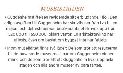 Sylvia Bjon Guggenheimmuseum kultur nationalromantik Tove Jansson  Richard Armstrong Neo nr 4 2014