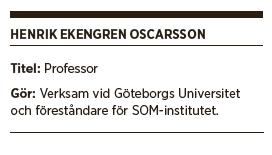 Henrik Ekengren Oscarsson Benjamin Juhlin val valforskning SOM-institutet Neo nr 4 2014