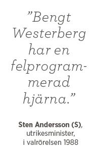 Sten Andersson Bengt Westerberg felprogrammerad val valår 1988 Andreas Ericson Neo nr 4 2014