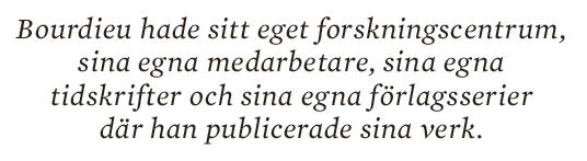 Inger Enkvist Pierre Bourdieu  Jean-François Revel socialt kapital fält  Neo nr 5 2014 citat 1