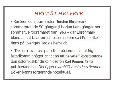 Fredrik Johansson Hatet och sanningen  Athena Farrokhzad  Sommar P1 Lenin Ebba Grön Neo nr 5 2014   Torsten Ehrenmark