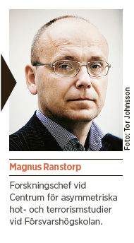 Magnus Ranstorp reflektion Per Gudmundson jihadister Neo nr 5 2014