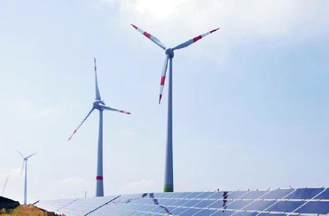 Med undantag från år 2013 har Tysklands utsläppsnivå stått stilla på samma nivå, vilket är anmärkningsvärt med tanke på de stora resurser som lagts på att stödja den förnyelsebara industrin. Foto: Armin Kübelbeck  / CC-BY-SA / Wikimedia Commons.