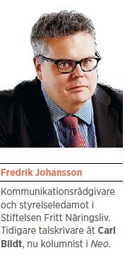 Fredrik Johansson vinst välfärd Stefan Löfven Gustav Fridolin Jabar Amin Neo nr 6 2014 presentation