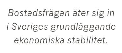 Fredrik Johansson Bostadsstatistik hyra i andra hand bostadsmarknaden bostad hyresrätt makroekonomi Neo nr 1 2015
