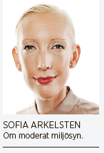 Mattias Svensson Miljöpolitik för moderater – och för alla andra Fores 2015 recenserad av Sofia Arkelsten Miljöpartiet Porterhypotesen Freakonomics Neo nr 1 2015 foto