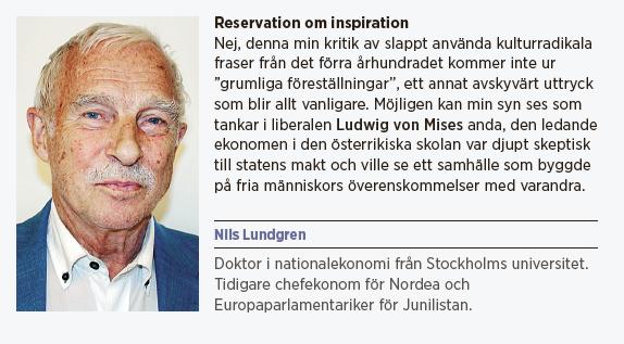 Nils Lundgren Till normens försvar okonventionell normkritik tabu konventioner borgerlig grovhångla Ludwig von Mises Neo nr 2 2015 presentation