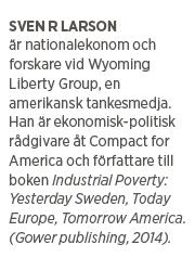 Sven R Larson Wibble räddade Sverige nationalekonomi Anne Wibble Göran Persson anders Borg Magdalena Andersson 90-talskrisen konjunkturpolitik BNP Neo nr 2 2015 presentation
