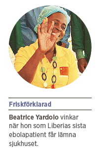 Mattias Svensson Ebola Liberia  Beatrice Yardolo WHO Hans Rosling  Johan von Schreeb Axpixlat Fria Tider Neo nr 2 2015