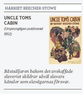 Dan Korn Harriet Beecher Stowe Onkel Toms Stuga husneger Hanif Bali Tino Sanandaji Alice Toedorescu Neo nr 3 2015