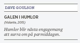 Linda Skugge recension David Goulson Galen i humlor Neo nr 3 2015