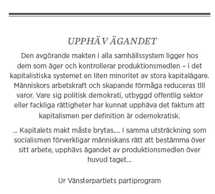 Hans Bergström krönika Socialdemokratins svek Daniel Suhonen Håkan Juholt Jonas Sjöstedt Gudrun Schyman Stefan Löfven Vänsterpartiets program Neo nr 3 2015