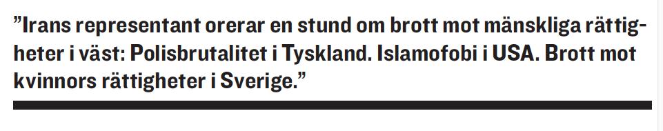 Paulina Neuding Diktaturernas paradis Libyen, Irak, Kina FN UN Watch Jan Eliasson Kofi Annan Hillel Neuer Ashraf El Hagoug Neo nr 5 2010 citat2