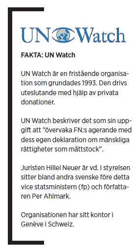 Paulina Neuding Diktaturernas paradis Libyen, Irak, Kina FN UN Watch Jan Eliasson Kofi Annan Hillel Neuer Ashraf El Hagoug Neo nr 5 2010 UN Watch