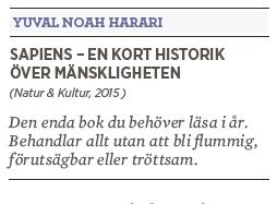 Bengt Ohlsson recension Yuval Harari Sapiens Neo nr 4 2015
