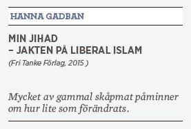 Hanna Lager recension Hanna Gadban Min jihad islam muslimer religion Neo nr 4 2015