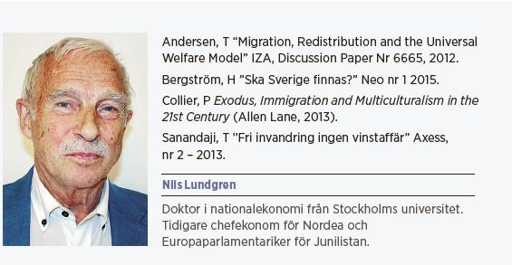 Nils Lundgren krönika Att flytta är ingen mänsklig rättighet invandring etik asyl Neo nr 4 2015