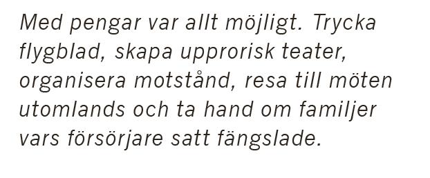 Bengt G Nilsson När Sverige störtade en regering Sydafrika apartheid Nelson Mandela Winnie Mandela Desmond Tutu Birgitta Karlström Dorph Olof Palme Christian Åhlund Per Wästberg Neo nr 4 2015 citat