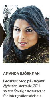 Amanda Björkman Idealisterna Paulina Neuding Erik Ullenhag Tino Sanandaji invandring migration realister Neo nr 4 2015