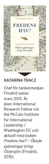 Katarina Tracz Fredens hav Östersjön Ryssland säkerhetspolitik Nato försvar Boris Nemetsov Vladimir Putin Barack Obama Neo nr 4 2015