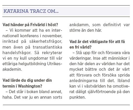 Katarina Tracz Fredens hav Östersjön Ryssland säkerhetspolitik Nato försvar Boris Nemetsov Vladimir Putin Barack Obama Neo nr 4 2015 tre korta