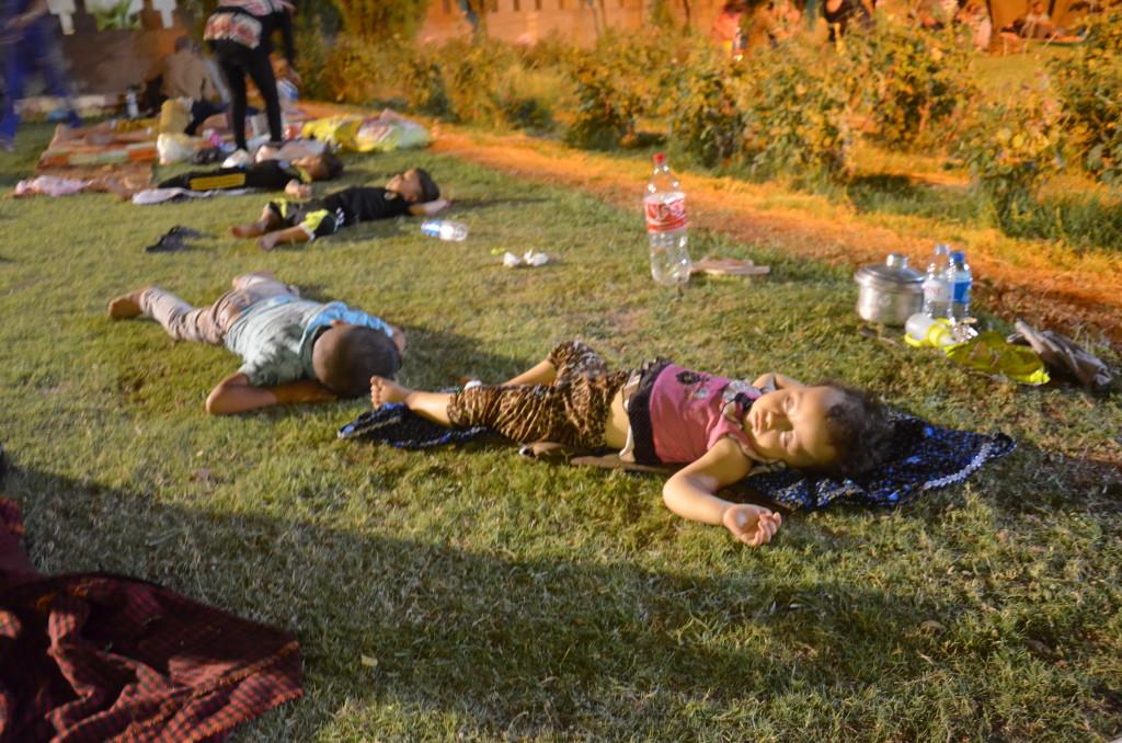 Flyktingar i Erbil och Ankawa. Fotograf Allan Kakony. (6/8)