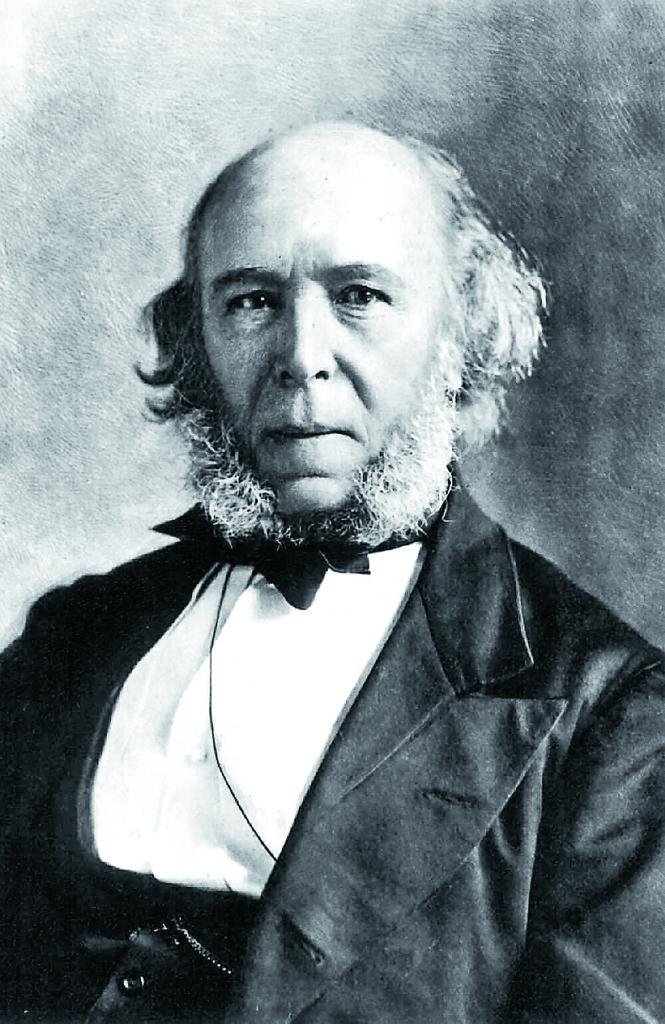 Herbert Spencer förblev under hela sitt liv motståndare till imperialism och väpnad kamp som metod för konfliktlösning.