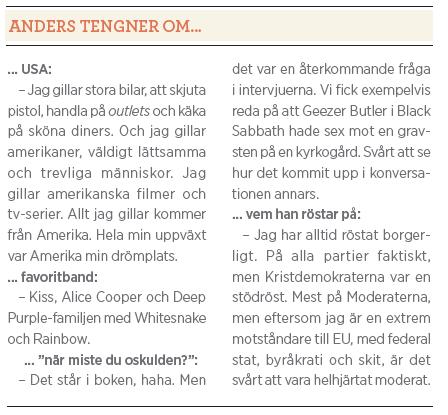 Anders Tengner intervju access alla areas Mattias svensson Neo nr 4 2011 Tengner om...