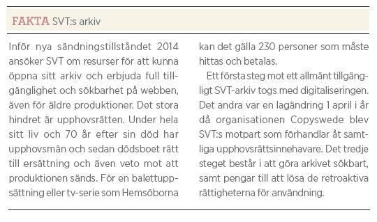 Intervju Eva Hamilton SVT public service Neo nr 4 2011 svts arkiv