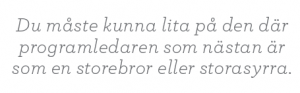 Intervju Eva Hamilton SVT public service Neo nr 4 2011 Ola Lindholm citat2