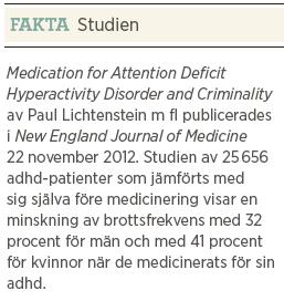 Kjell Häglund ADHD kan lindras och brottsligheten minskas, men sekten hotar forskning och åtgärder Neo nr 2 2013 fakta 2