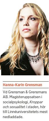 Hanna-Karin Grensman Dygder i samlivet sextips Neo 2 2013 pres