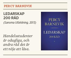 Linda Skugge recenserar Percy Barnevik Ledarskap 200 råd Sanoma Utbildning