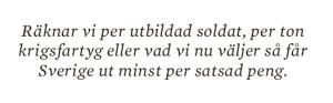 Hans Lindblad Olyckorna Bildt, Björck och Borg essä Neo nr 3 2013 citat 1
