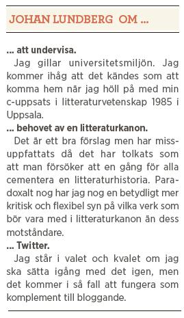 Agnes Arpi intervju Johan Lundberg Neo nr 5 2013 om