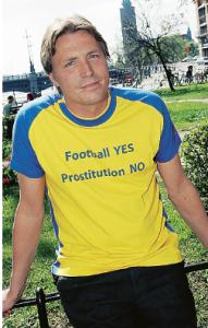 Tyskland märkte inte av någon ökad sexhandel i samband med fotbolls-VM 2006, men svenskar indignerades ändå. Foto: Magnus Jönsson / Scanpix