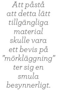 Dan Korn recension Neo nr 5 2013  Karl-Olov Arnstberg                             & Gunnar Sandelin Invandring och  mörkläggning  – En saklig rapport från en förryckt tid citat