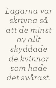 Hanna Lager recension Neo nr 5 2013 Eva F Dahlgren Fallna kvinnor  – när samhällets bottensats skulle lära sig veta hut citat