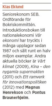 Klas Eklund intervju Neo nr 5 2013 Bokriskommittén