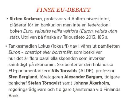 Sylvia Bjon EU Finland krönika Neo nr 6 2013 Finland bananrepublik fakta