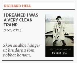 Linda skugge Richard Hell I dreamed I was a very clean tramp Neo nr 1 2014