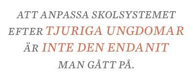 Sylvia Bjon krönika Finland skola Neo nr 1 2014 citat