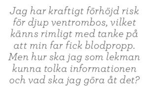 Joakim Jardenberg Neo testa gentest 23andme Neo nr 1 2014 citat