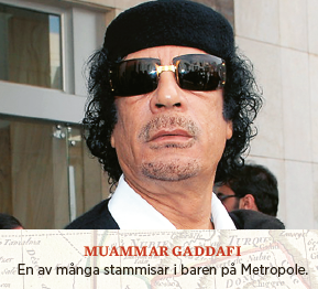 "Bengt Nilsson Roland Tiny Rowlands Afrika en liten rest av ""Tinys"" imperium Neo nr 1 2014 Moammar Gaddaffi"