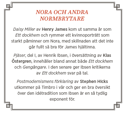 Johan Lundberg krönika Neo nr 1 2014 Henrik Ibsen normkritik Pippi Långstrump mer