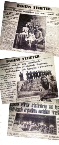 Andreas Ericson första världskriget 1914 Neo nr 1 2014